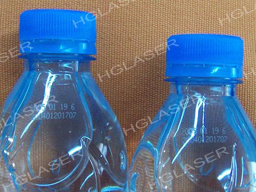 Beverage Plastic Bottle Laser Marking 2