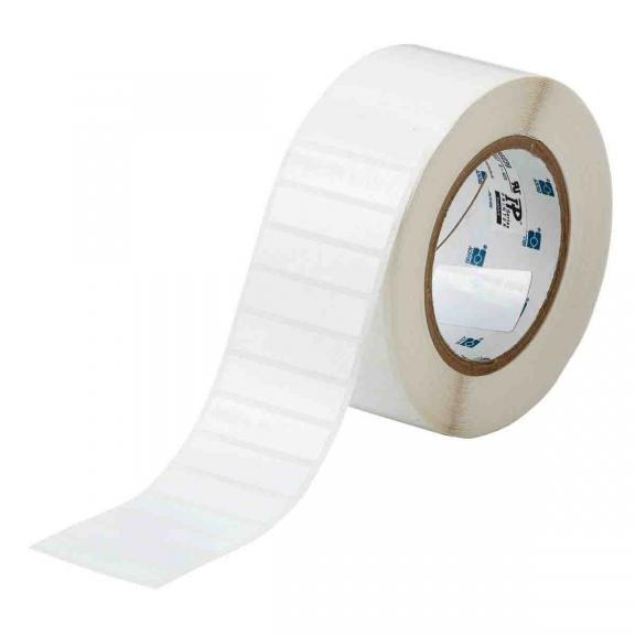 "Brady 3"" Core Glossy White Polyester Barcode and Solar Panel Labels"