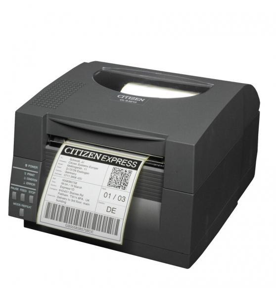 Citizen CL-S521II Industrial Desktop Barcode and Label Printer