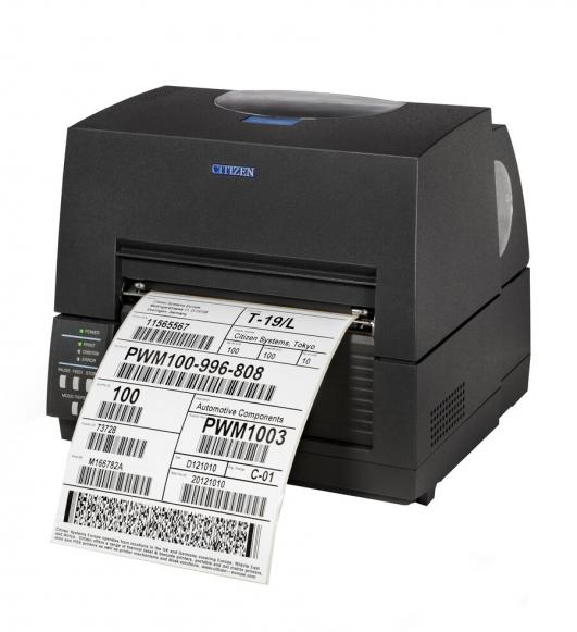 Citizen CL-S6621XL Barcode and Label Printer, Wide Format (6 & 8-inch)