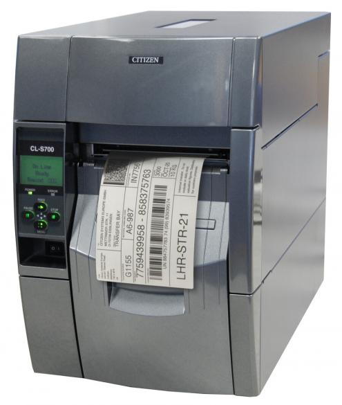 Citizen CL-S700RII Industrial Barcode and Label Printer