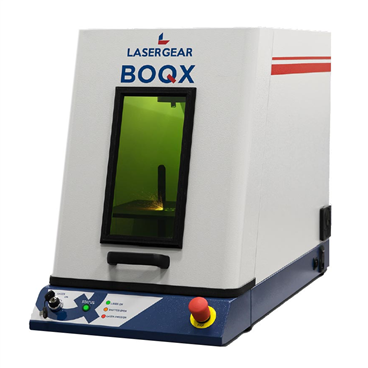 LaserGear BOQX Class I Desktop Laser Marking and Engraving System