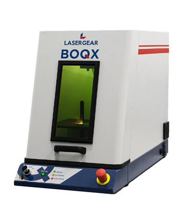 LaserGear BOQX Class I Desktop Laser Marking and Engraving System