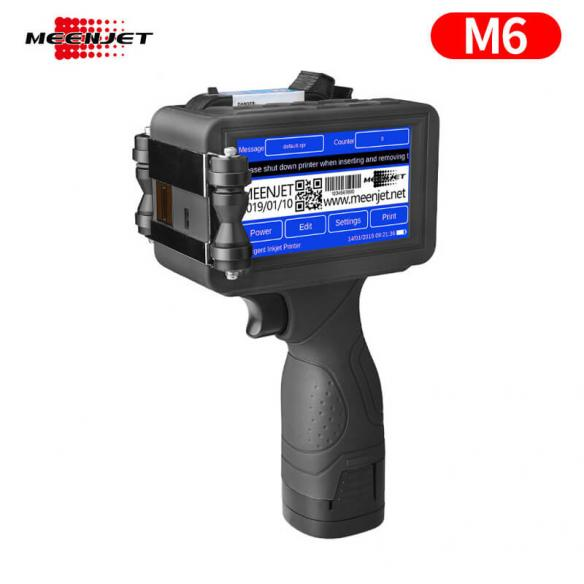 Meenjet M6 Handheld Inkjet Printer