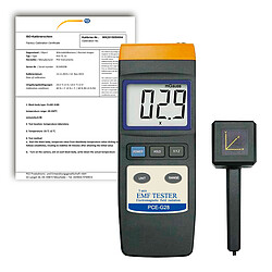 PCE Instruments PCE-G28-ICA Electromagnetic Field (EMF) Meter incl. ISO Calibration Certificate
