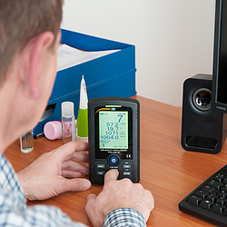 PCE Instruments PCE-AQD 20-ICA Gas Detector Incl. ISO Calibration Certificate