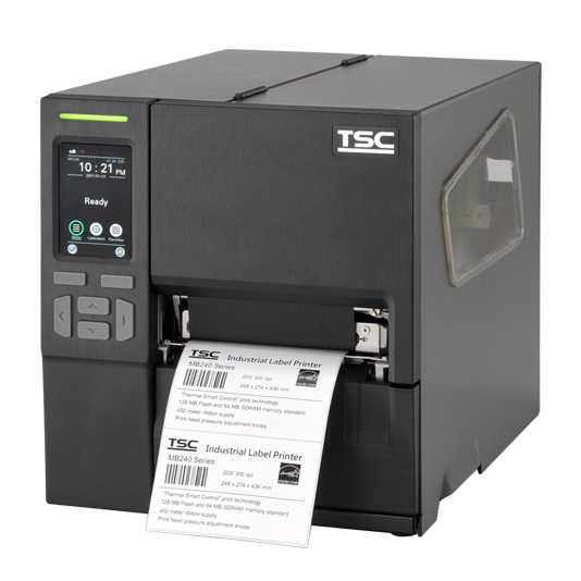 TSC MB240 Series Industrial Thermal Transfer Barcode and Label Printers