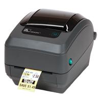 Zebra Advanced Desktop Barcode Label Printers (GK420d, GK420t, GK420e, GK420d Healthcare, GK420t Healthcare, GT800)