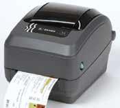 Zebra GX430T High-Resolution Thermal Transfer Desktop Barcode Label Printer