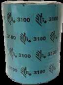 ZEBRA RIBBON WAX RESIN 130 X 300 MIDRANGE J3100