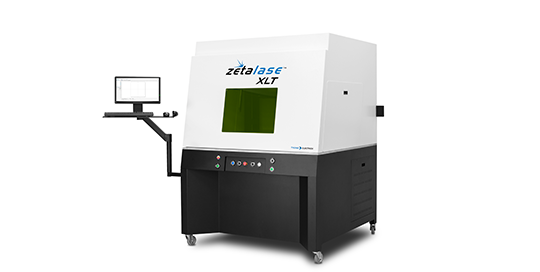 TYKMA Electrox Zetalase XLT Fiber Laser Marking and Engraving Machine